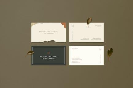 Mirabilis Business Cards
