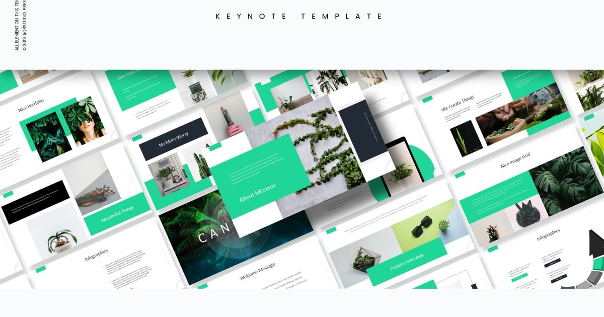 Download Cangkul - Keynote Template by aqrstudio