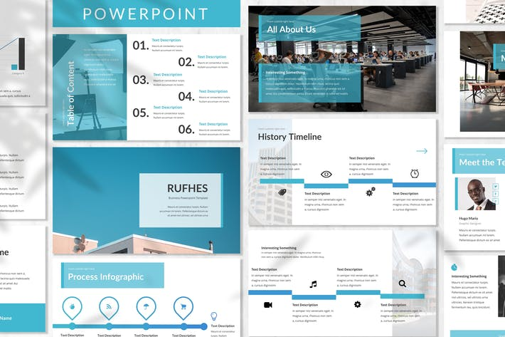 Thumbnail for Rufhes - Business Powerpoint Template