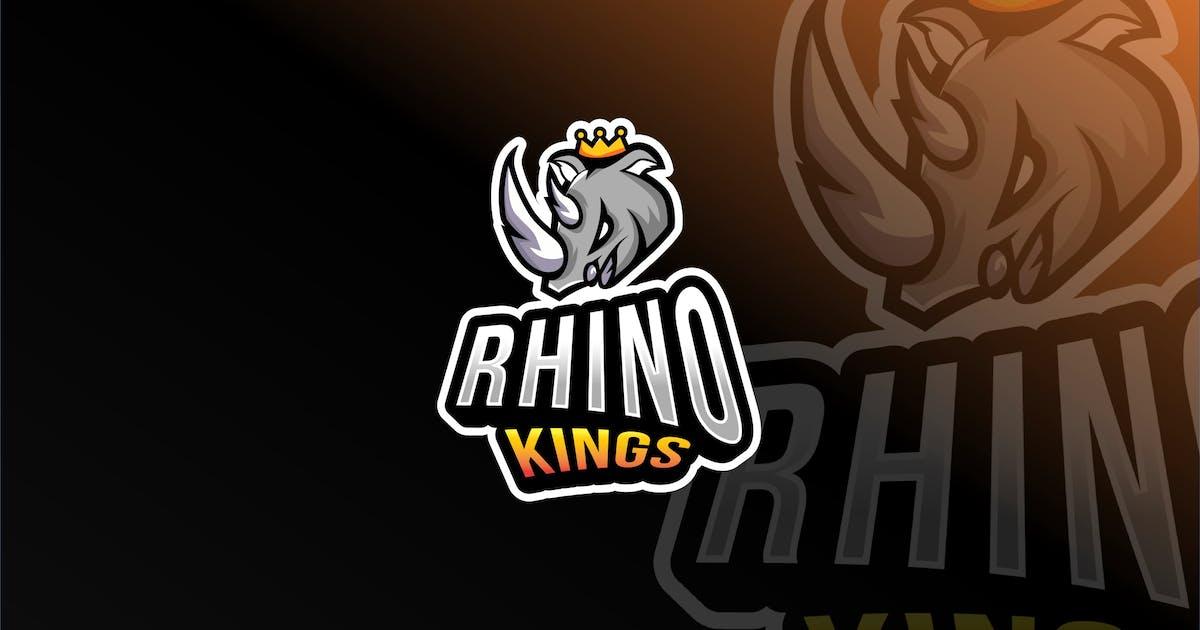 Download Rhino Kings Esport Logo Template by IanMikraz