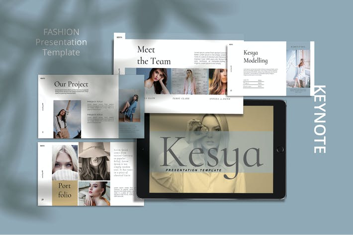 Thumbnail for KESYA- Мода Шаблон Keynote