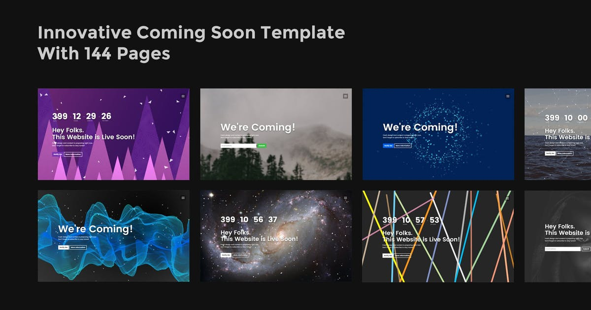 Download Innovo - Innovative Coming Soon Template by ThemeStarz