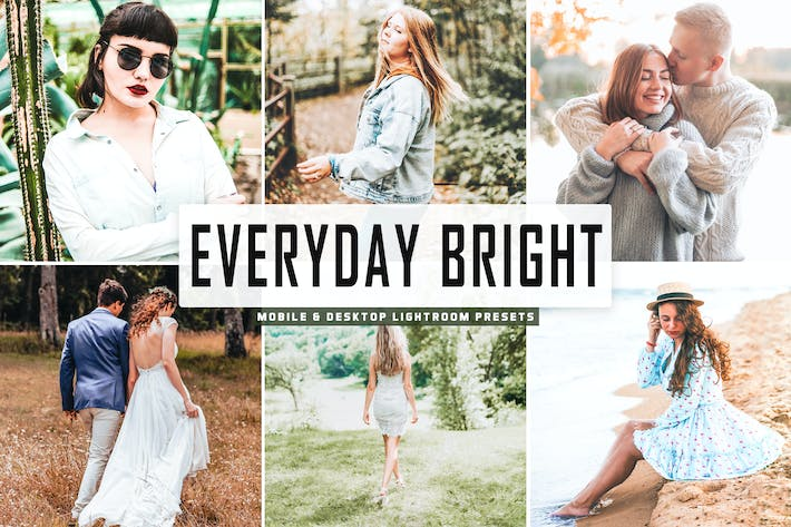 Thumbnail for Everyday Bright Pro Lightroom Presets V2