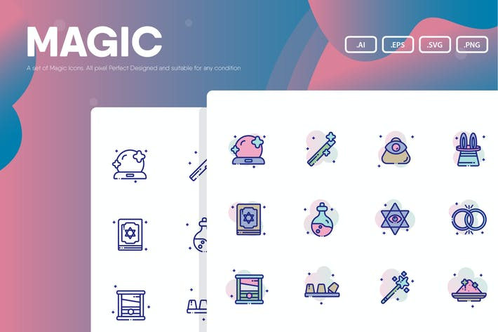 Thumbnail for Magic Icon Pack