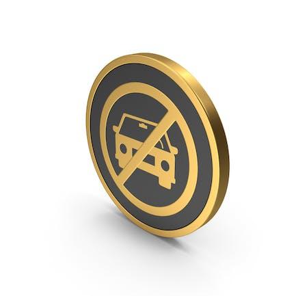Gold Icon No Car