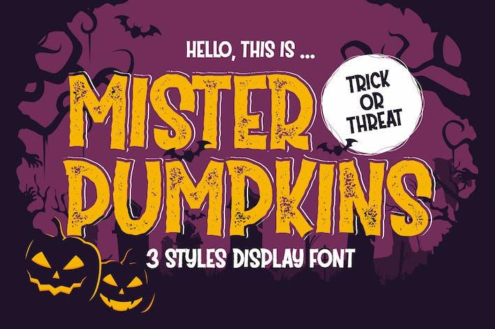 Thumbnail for Mister Pumpkins