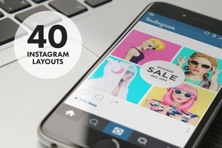 Thumbnail for 40 Instagram Layouts