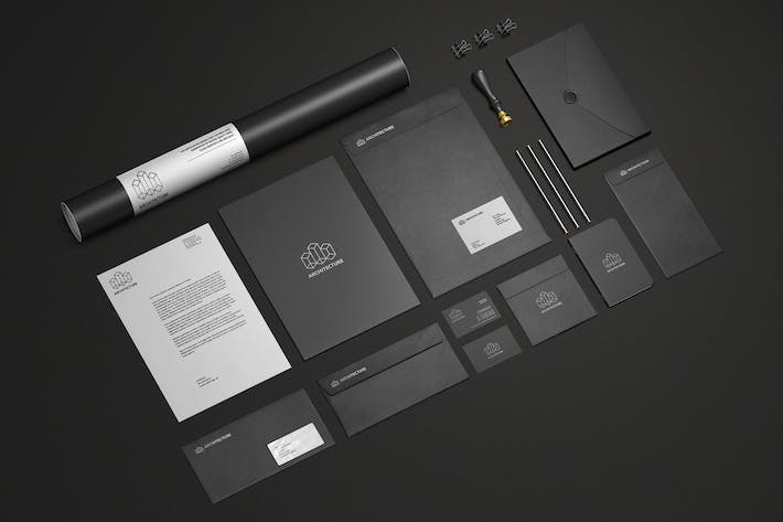 Thumbnail for Branding / Stationery Mock-Up Vol.1