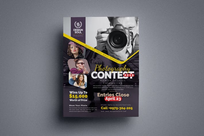 Thumbnail for Photography Contest Flyer