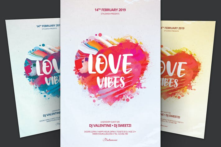 Thumbnail for Love Vibes Flyer