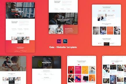 Gaia - Creative Business Website Templates