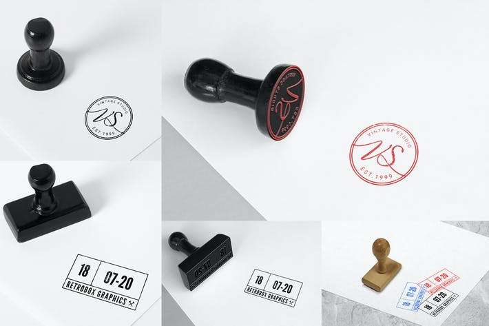 Cover Image For Rubber Stamps Mock Up Vol 01