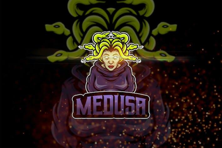 Thumbnail for Medusa - AI and PSD Esport Logo Template
