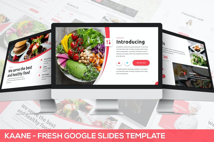 Thumbnail for Kaane - Fresh Google Slides Template