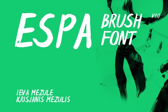 Thumbnail for Espa Brush Font