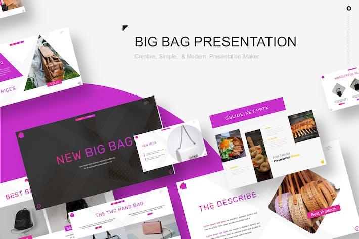 Thumbnail for Новый Шаблон презентации Big Bag