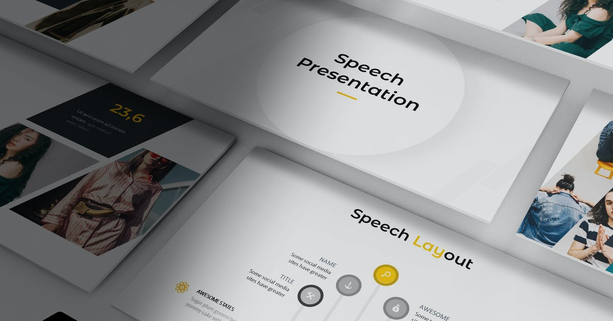 Download Speech - Powerpoint Template by aqrstudio