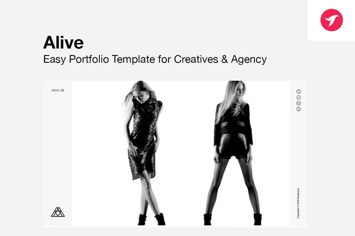 Thumbnail for ALIVE - Portfolio Template for Creatives & Agency