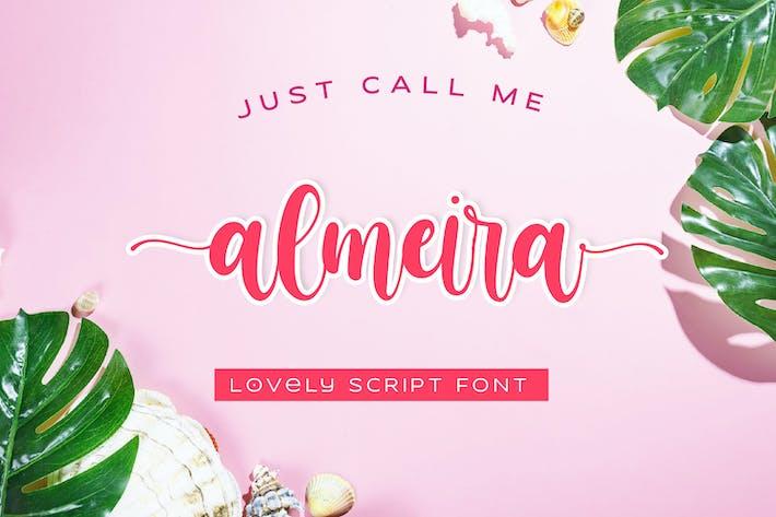 Thumbnail for almeira - Lovely Script