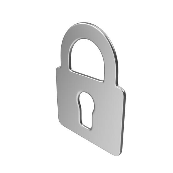 Thumbnail for Lock Symbol Silver