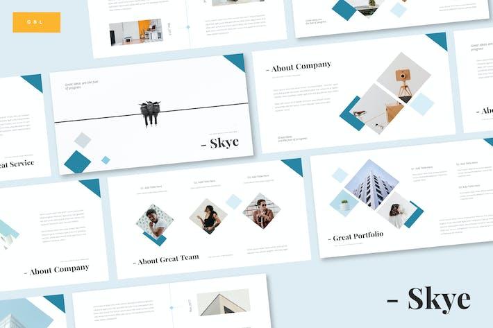 Thumbnail for Skye - Business Google Slide Template