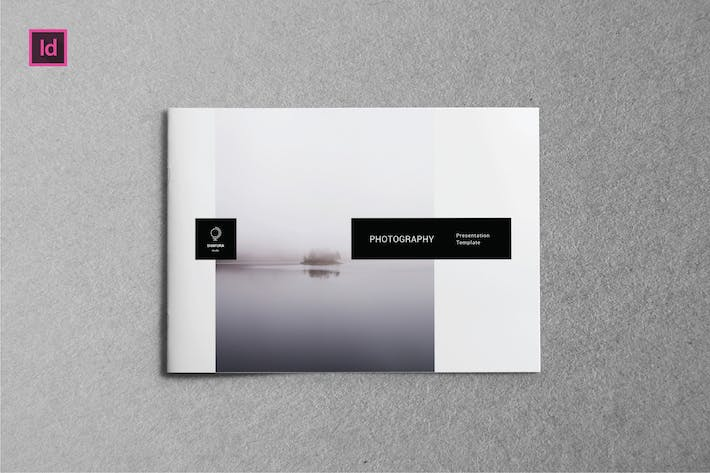 Thumbnail for PHOTOGRAPHY -  A5 Landscape Lookbook template