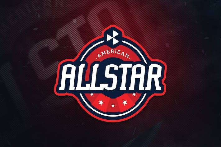 Thumbnail for American All Stars Sports Logo