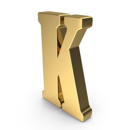 K Buchstaben