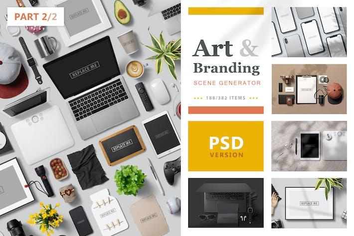 Art & Branding Scene Generator - Part 2