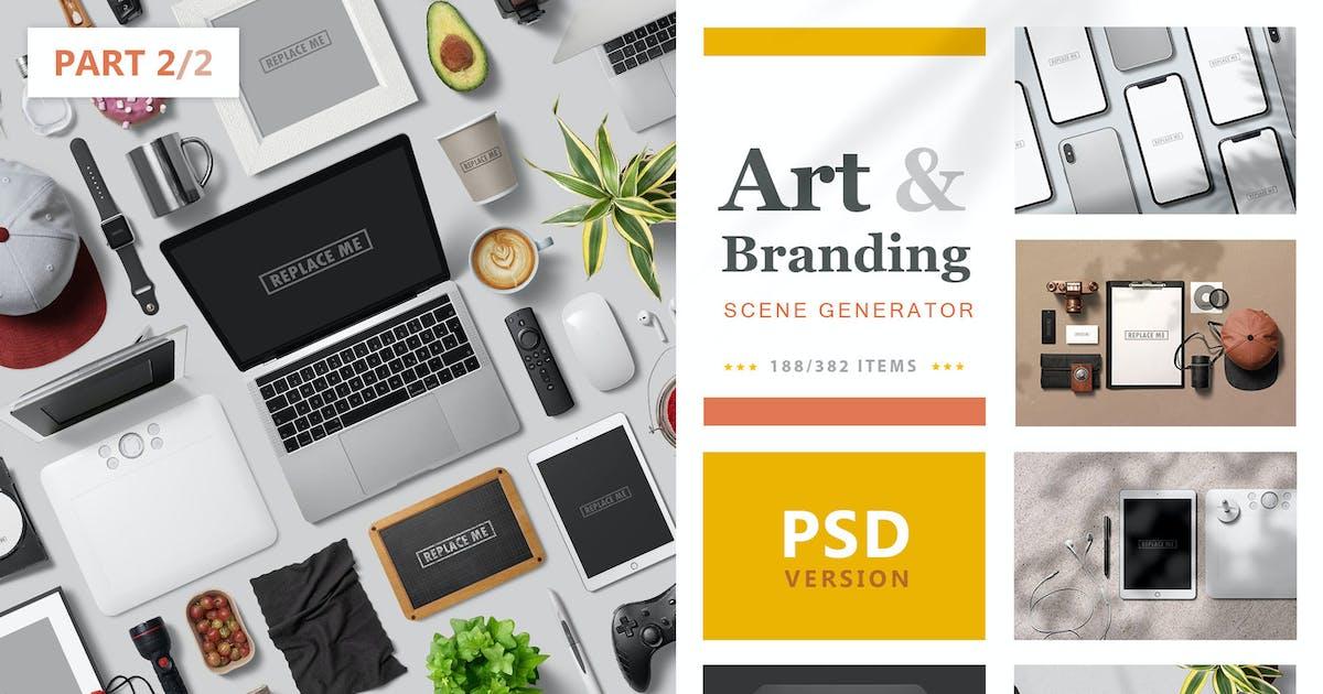Download Art & Branding Scene Generator - Part 2 by h3-design