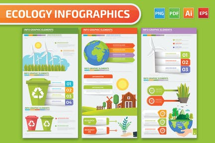 Ecology Infographics design