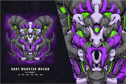 Goat Monster Mecha