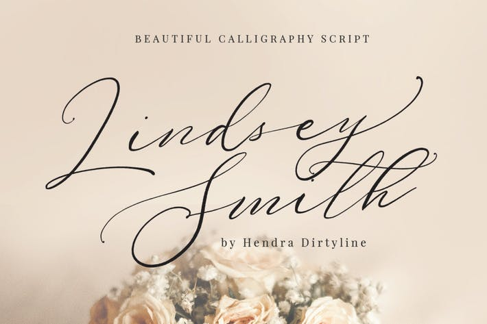 Thumbnail for Lindsey Smith Script signature Luxury