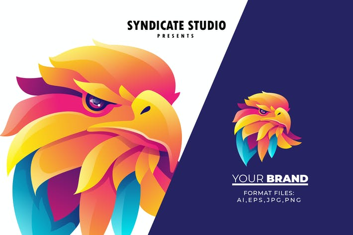 Bird Gradient Logo