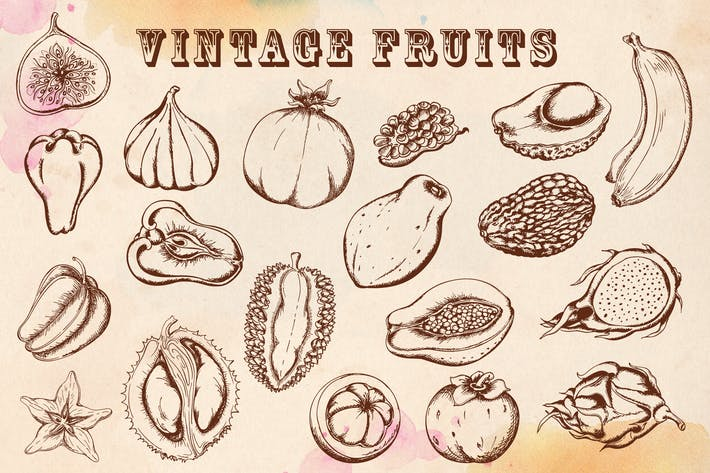 Thumbnail for Vintage Tropical Fruits