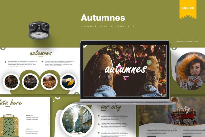 Thumbnail for Autumnes | Google Slides Template