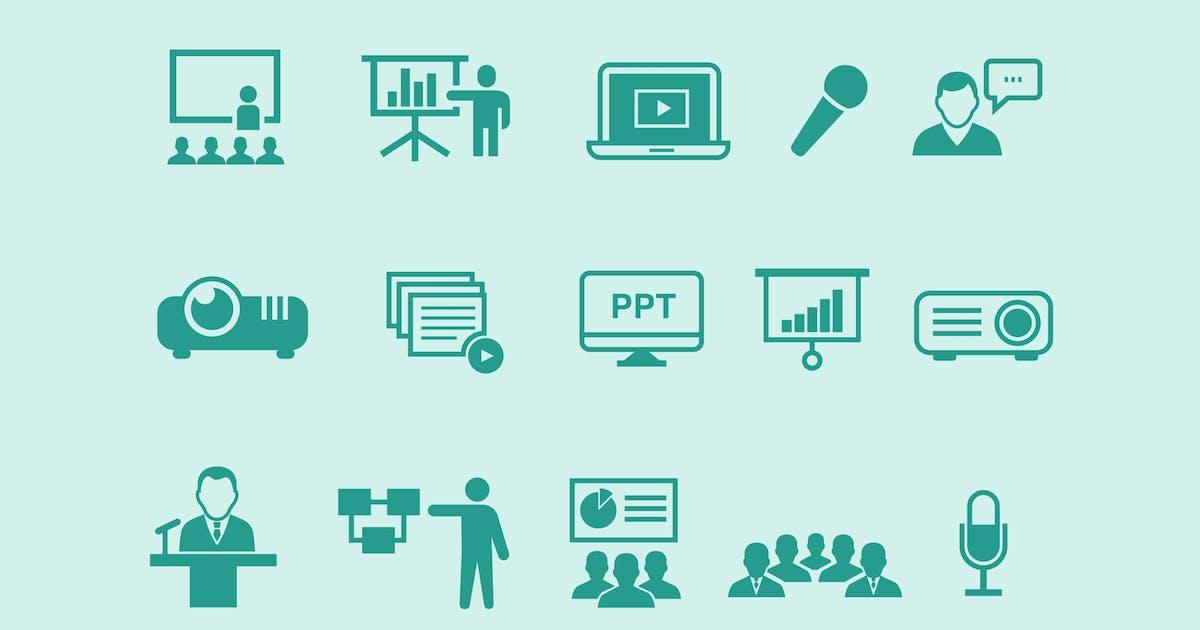 15 Presentation Icons by creativevip