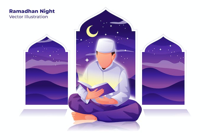 Thumbnail for Ramadhan Night - Vector Illustration