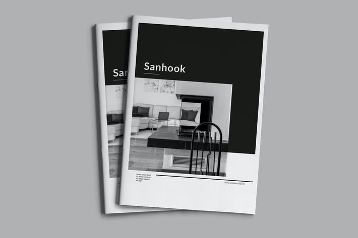 Thumbnail for Sanhook - Mehrzweck-Broschüre Business Unternehmens-