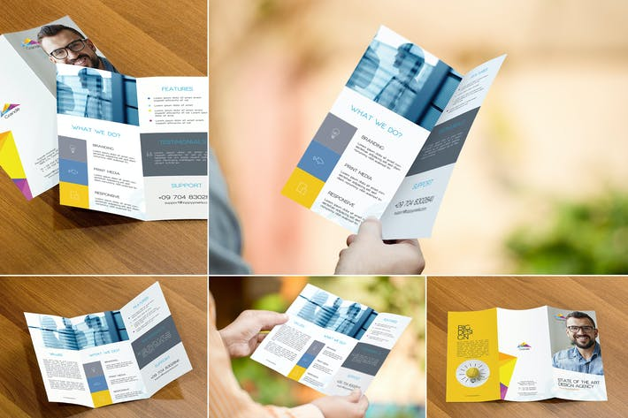 Thumbnail for Premium Flyer Mockups