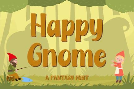 Happy Gnome – Fantasy Font