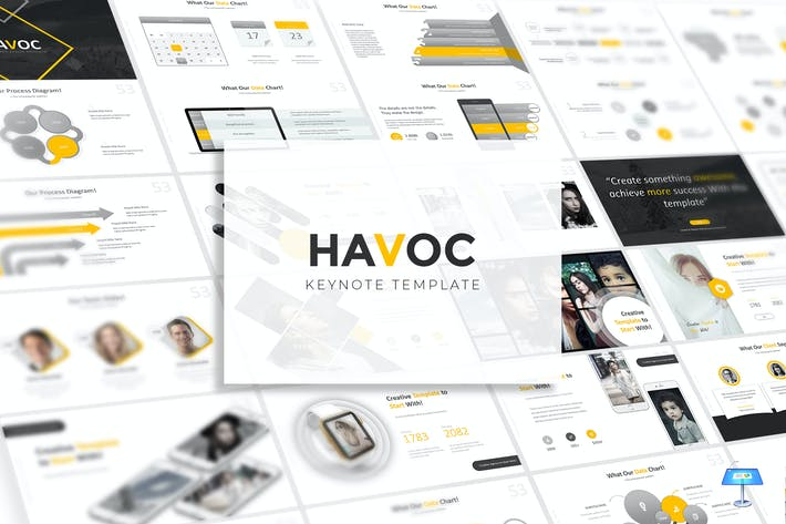 Cover Image For Havoc - Keynote Template