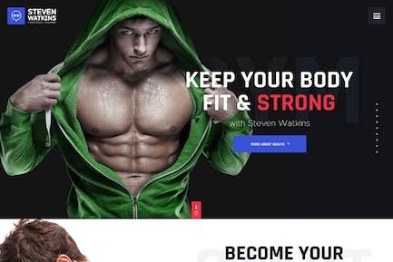 Steven Watkins | Personal Gym Trainer & Nutrition