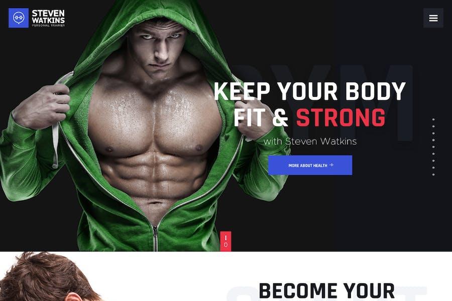 Steven Watkins   Personal Gym Trainer & Nutrition