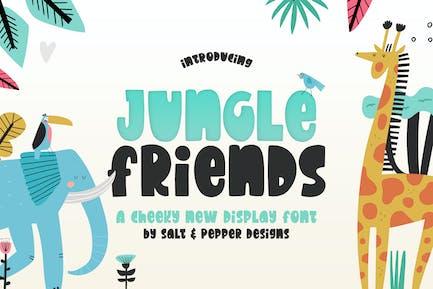 Jungle Friends Font