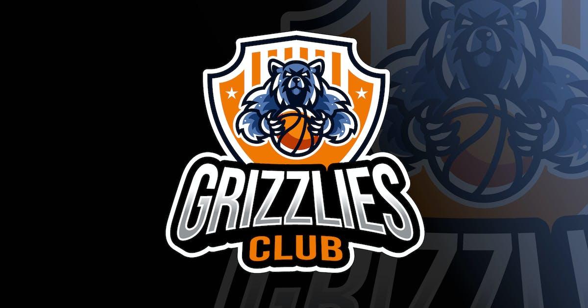 Download Grizzlies Basketball Logo Template by IanMikraz