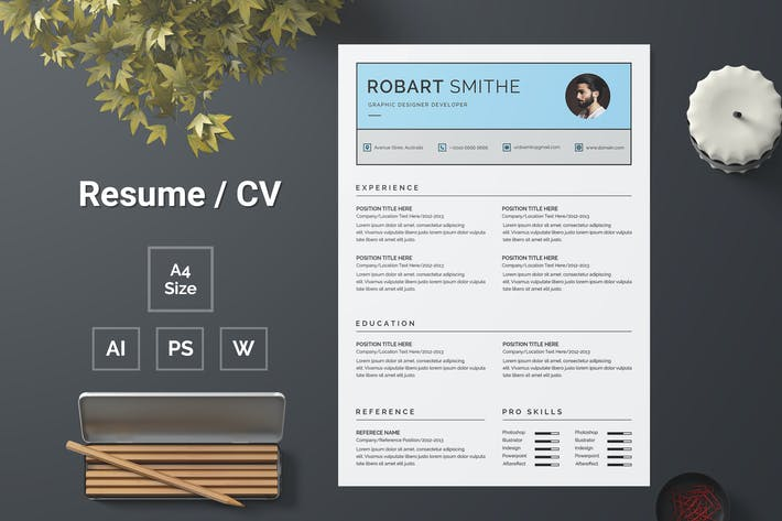 Thumbnail for Resume Template 145