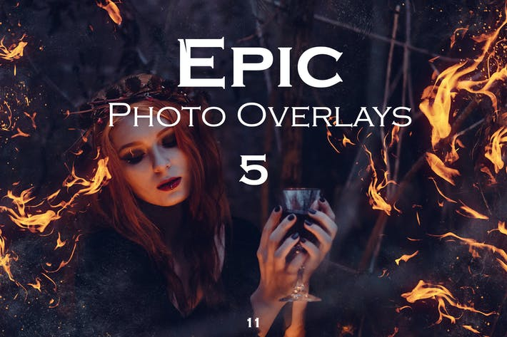 Thumbnail for Epic Photo Overlays 5
