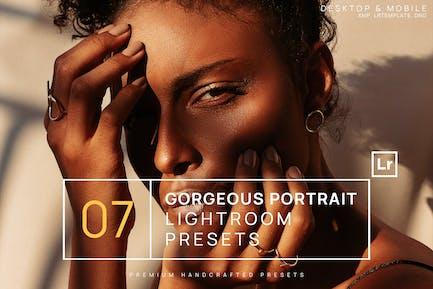 7 Gorgeous Portrait Lightroom Presets + Mobile