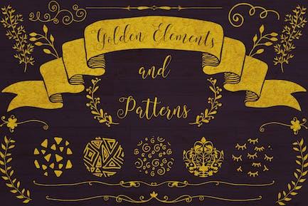 Golden Elements + 20 Patterns